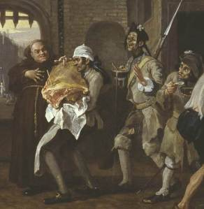 Hogarth's 'O the Roast Beef' (via wikimedia commons)