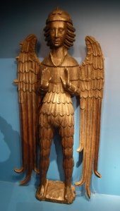 15th-century carved angel