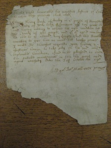 A fragment: the petition of Henry Buck's neighbours, 1698