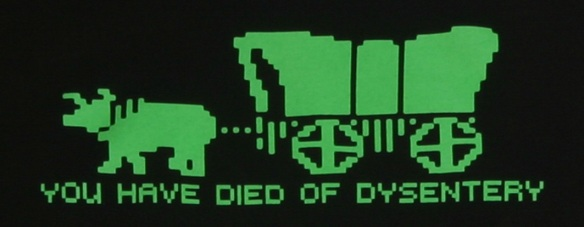 Gaming - oregon-trail-you-have-died-of-dysentery