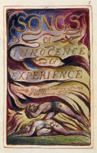William Blake's 'Songs of Innocence and Experience' (1789): Thompson's choice of reading material
