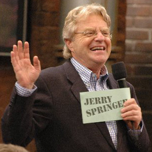 Definitely a case for Jerry Springer...