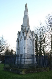 Dartford's monument was opposed by a local Catholic priest.