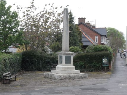 Exeter's Martyr Monument at Liverydole.