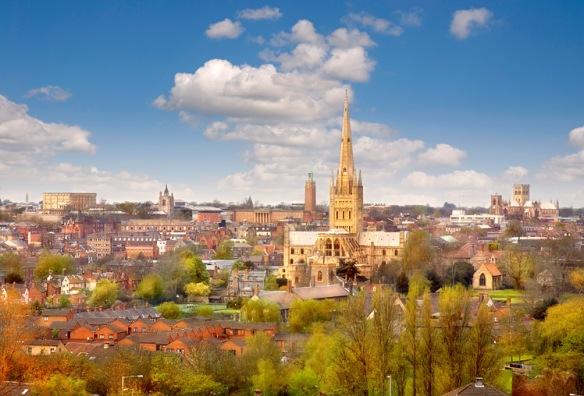 Norwich - a fine city!
