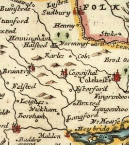 Coggeshall, Essex, c1700