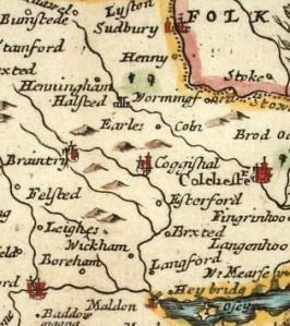 Coggeshall, Essex, c1700