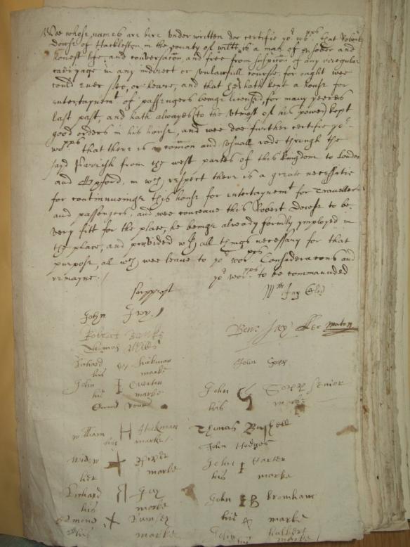 Hackleton Petition