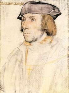 Sir Thomas Elyot, looking a bit 'plebeian'.