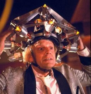 Doc Brown's thinking cap: not essential for understanding theory