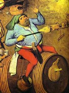 Indulging bodily pleasures