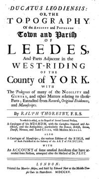 History of leeds