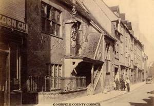 Great Yarmouth, Tolhouse (Gaol, House of Correction and Magistrate Court), photographed by Thomas Ayres, late 1800s, c. Norfolk County Council