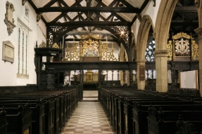 Interior of St John the Evangelist.