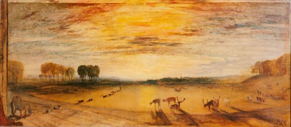 One of Turner's takes on Petworth Park