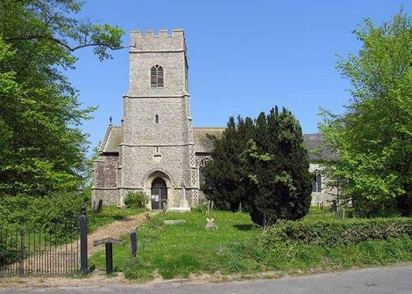 Wicklewood parish church today