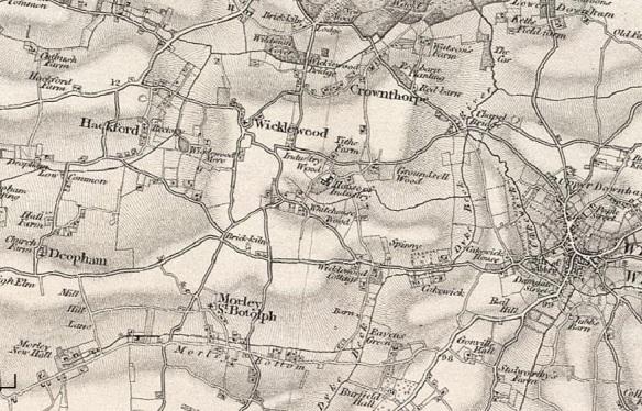 Wicklewood and Morley in Norfolk