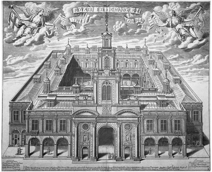 The Royal Exchange, 1671