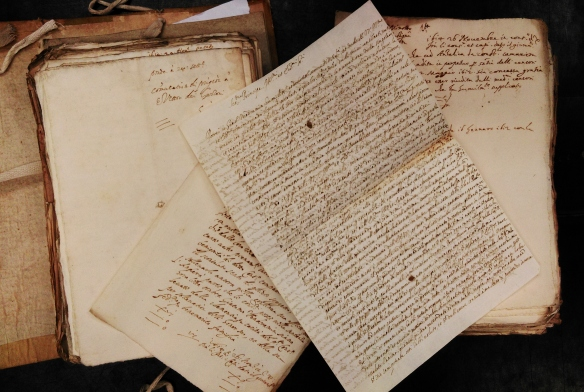 Vendramin's petition in the Venetian State Archives, 1614