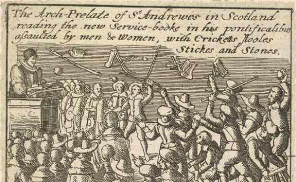 Edinburgh 1637, from John Vicars, The Sight of ye Transactions of these latter years (1646)