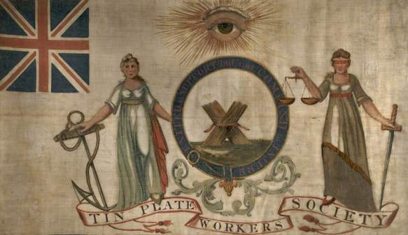 Dixon, William; Tin-Plate Workers' Banner, Liverpool*