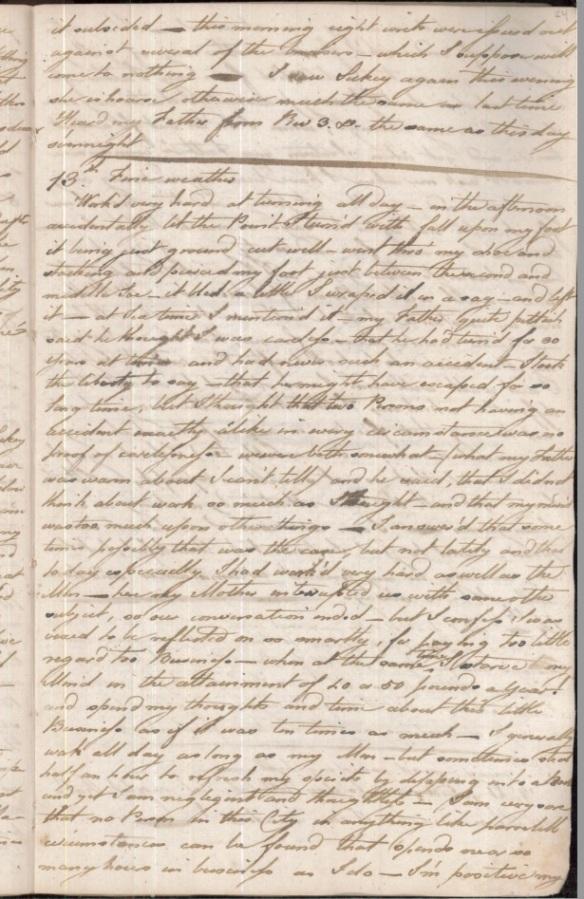 Parsons diary p1