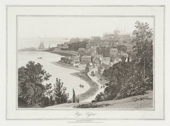 Rye, Sussex null by William Daniell 1769-1837